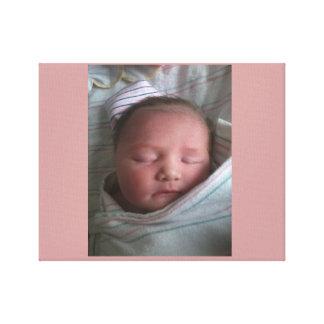 Baby Kyla Canvas Print