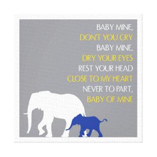 Baby Mine Canvas Prints