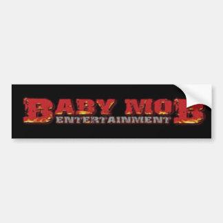 Baby Mob Bumper Sticker
