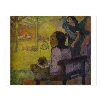 Baby (Nativity of Tahitian Christ) by Paul Gauguin Postcard