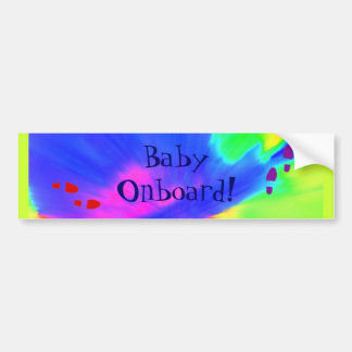 """Baby Onboard"" Bumper Sticker Car Bumper Sticker"