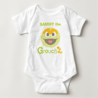 Baby Oscar Grouchy | Add Your Name Baby Bodysuit