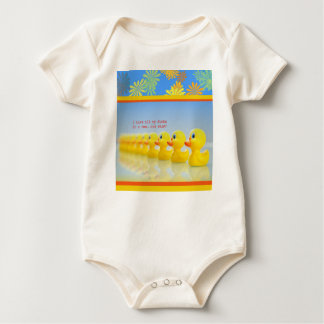 Baby Outfit Ducks in a Row Baby Bodysuit