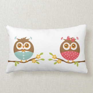 Baby Owls Lumbar Cushion
