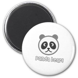 Baby Panda Cartoon Refrigerator Magnet