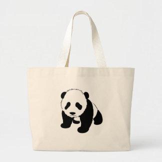 Baby Panda Large Tote Bag