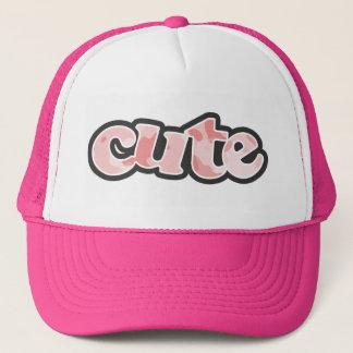 Baby Pink Camo; Camouflage Trucker Hat