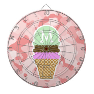 Baby Pink Camo; Ice Cream Cone Dartboards