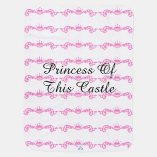 Baby princess two side blanket