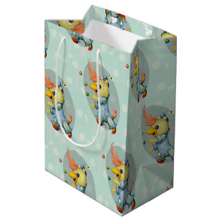 BABY RIUS CUTE CARTOON Gift Bag -  MEDIUM