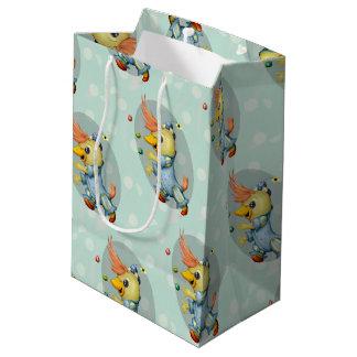 BABY RIUS CUTE CARTOON Gift Bag -  MEDIUM MATT