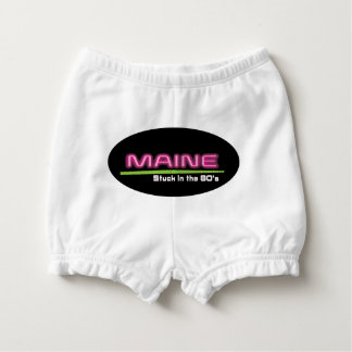 Baby Ruffled Diaper Bloomers MAINE STUCK IN THE80s Nappy Cover
