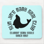 Baby Seal Clubber Mouse Pads