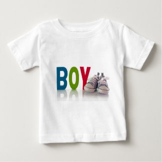 baby shirt with sport shoes