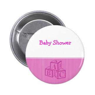 Baby Shower 6 Cm Round Badge