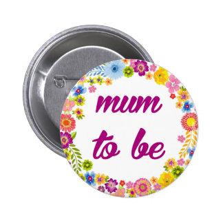 Baby Shower Badge - Mum to be