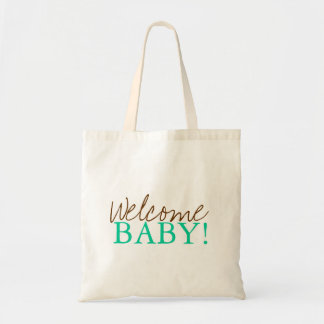 Baby Shower Bag   Welcome