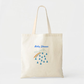 Baby Shower Boy Tote Bag