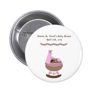 Baby Shower Button 2 Inch Round Button