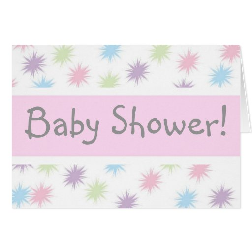 Baby Shower! Greeting Card