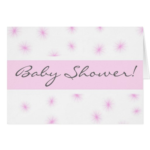Baby Shower! Greeting Cards