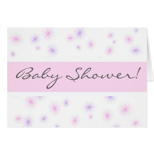 Baby Shower! Cards