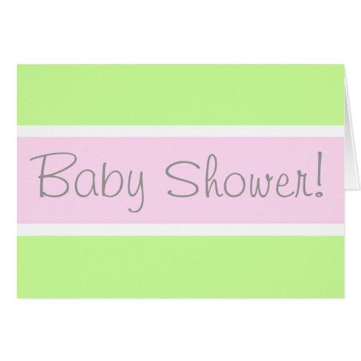 Baby Shower! Card