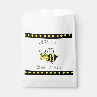 Baby Shower Favor Bags Bumblebee  Themed Favour Bags