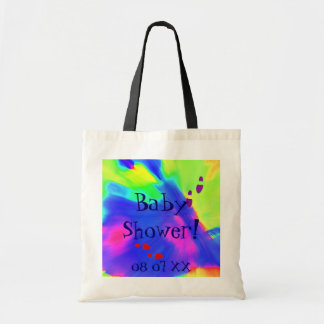 Baby Shower In Black And Natural III Budget Tote Bag