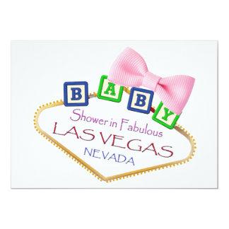 Baby Shower in Las Vegas GIRL Invitation