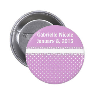 Baby Shower in Pink Pinback Button