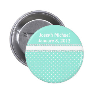 Baby Shower in Teal Buttons