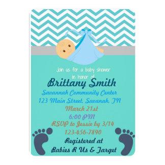 Baby Shower Invitaitons 13 Cm X 18 Cm Invitation Card