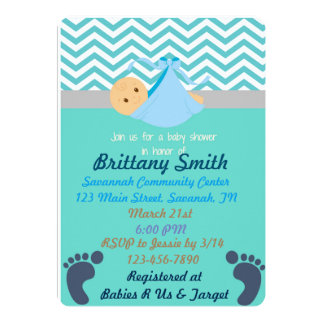 Baby Shower Invitaitons Card