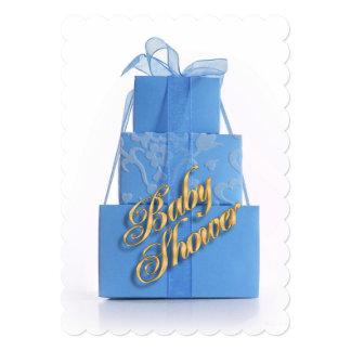 Baby Shower invitation Blue for Boy