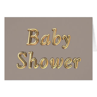 Baby shower invitation Expecting a baby pregnant Greeting Card