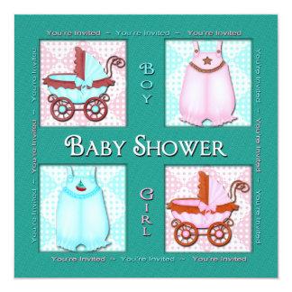 BABY SHOWER INVITATION -  WINDOW SHOP