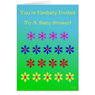 Baby Shower Invite Greeting Cards
