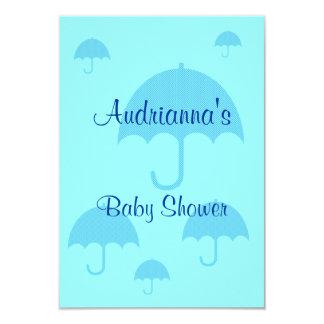 """Baby Shower"" - Multiple Umbrellas Card"