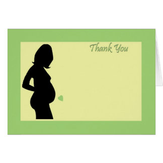 Baby shower thank you! card