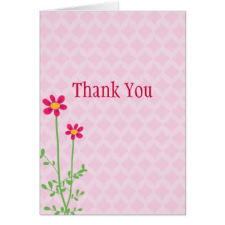Baby Shower Thank You Greeting Card