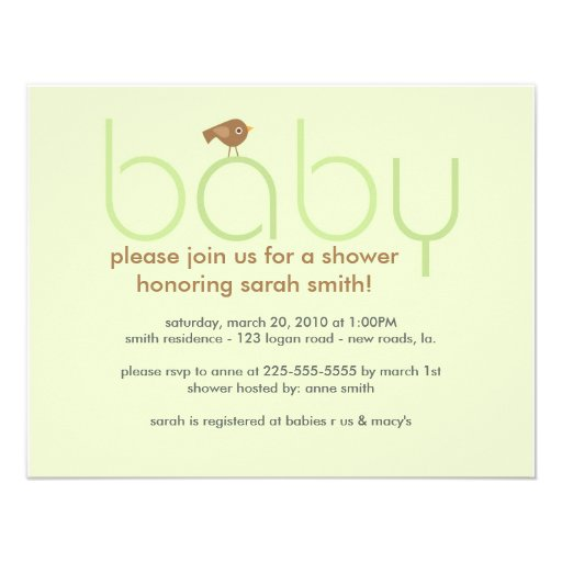 Baby Shower (Today's Best Award) Announcement