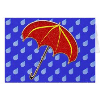 Baby Shower- Umbrella: Invitation