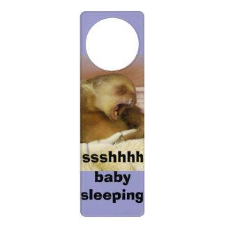 Baby Sleeping Quiet Sign