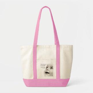 Baby Smiles Impulse Tote Bag- pink