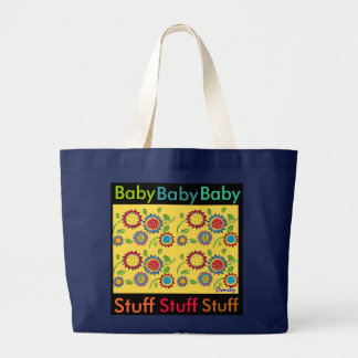 Baby Stuff - Roomy canvas tote