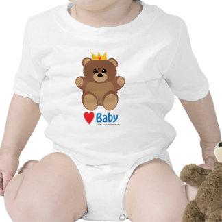 Baby Teddy Bear Heart Tees