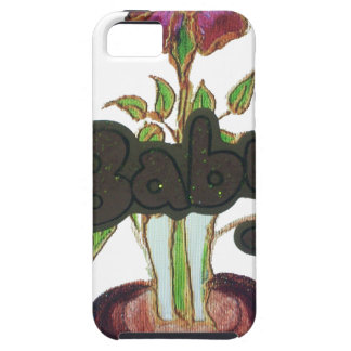 Baby text hiding plant.png case for the iPhone 5