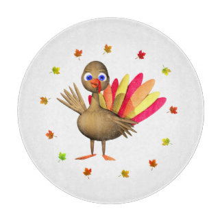 Baby Thanksgiving Turkey Cutting Board