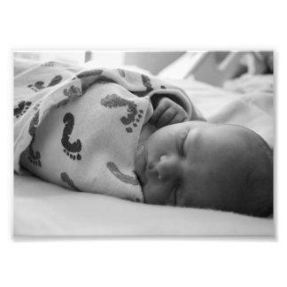 Baby Thomas B&W Photographic Print